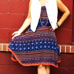Anthropologie Maeve • Strapless Dress